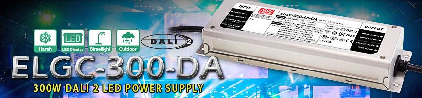 Драйверы для светодиодов мощностью 300 Вт с DALI 2.0