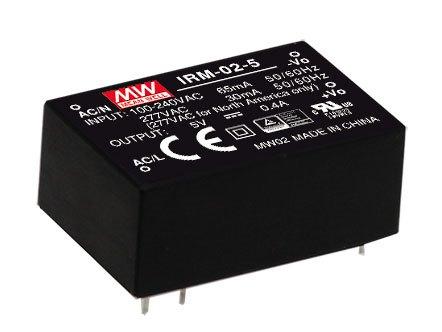 IRM-02-5 - AC/DC-преобразователь для монтажа на плату