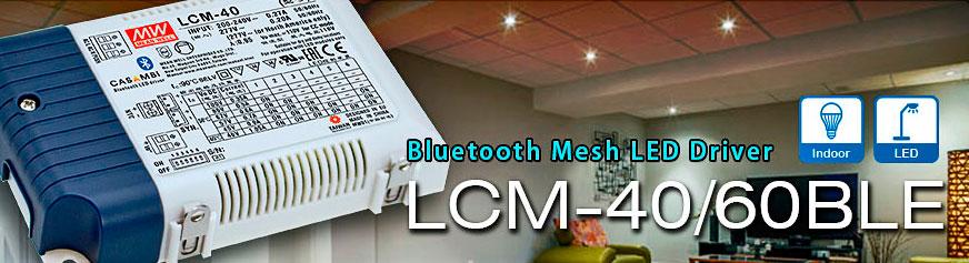 Драйвера для светодиодов серии LCM с управлением по Bluetooth