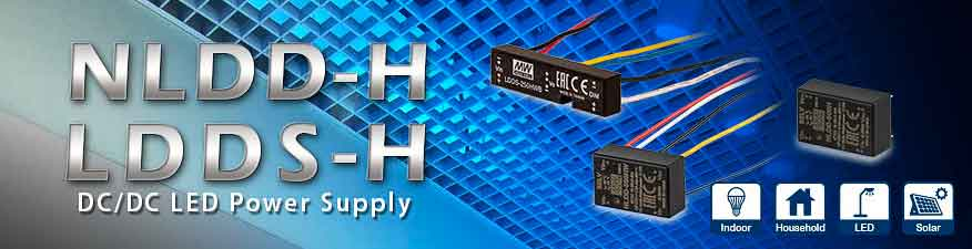 DC/DC LED-драйвери NLDD-H / LDDS-H