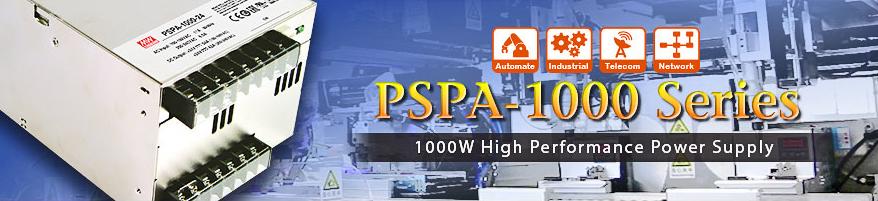 PSPA-1000 - высокопроизводительные источники питания мощностью 1 кВт