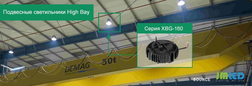 Пример использования новых драйверов для светодиодов XBG-160