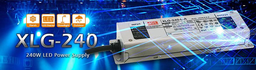 LED-драйверы серии XLG-240
