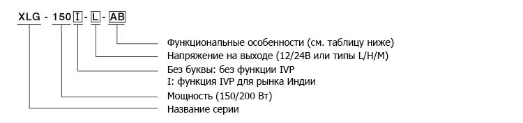Кодирование драйверов XLG-150 и XLG-200