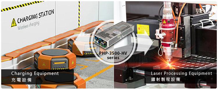 Приклад використання PHP-3500-HV