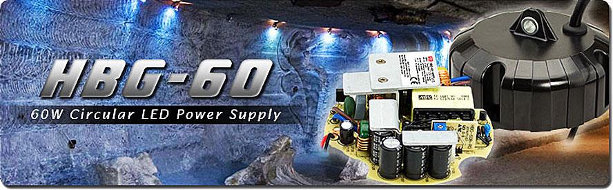 По мере роста спроса на питание подвесных систем освещения меньшей мощности, компания Mean Well пошла на расширение линейки и разработала источники питания серии HBG-60 с выходной мощностью 60 Вт.