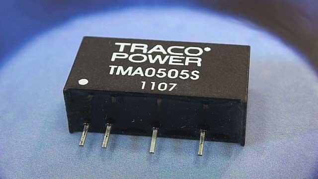 DC/DC-конвертеры TRACO POWER TMA 0505S, TMA 0512D и TMA 0515D