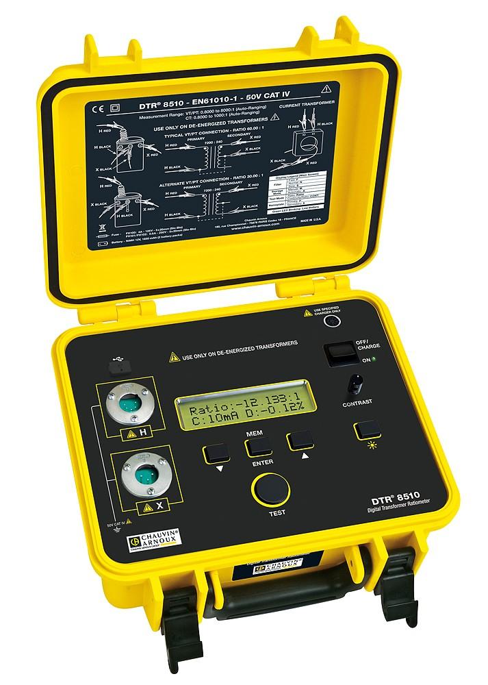 Измеритель коэффициента трансформации DTR 8510