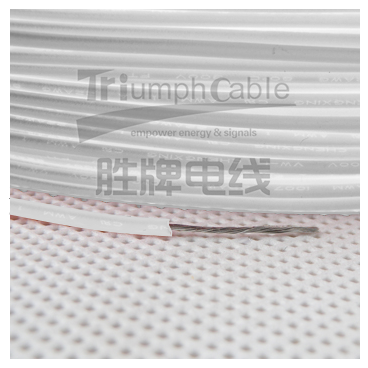 UL1007-22AWG-17/0.16TC White Color