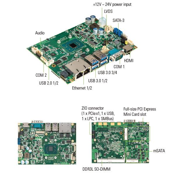 CAPA313, одноплатный компьютер
