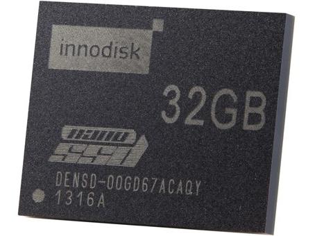 Миниатюрный накопитель nanoSSD от Innodisk