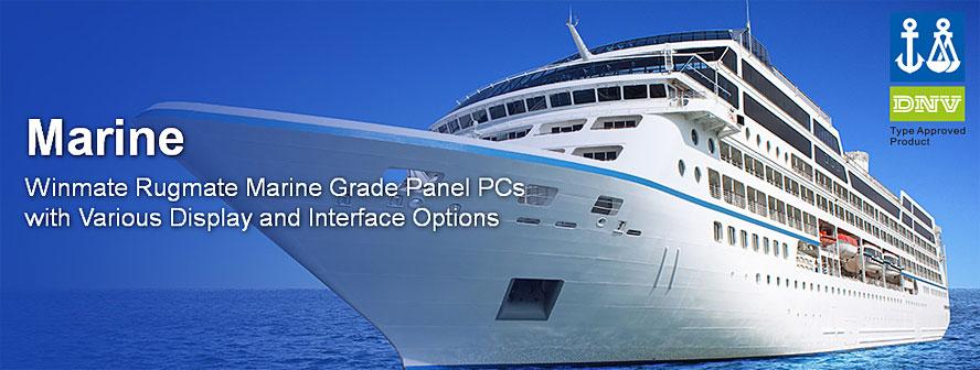 Компания Winmate выводит на рынок три новых серии морских панельных компьютеров с диагональю сенсорного экрана 19, 24 и 26 дюймов.