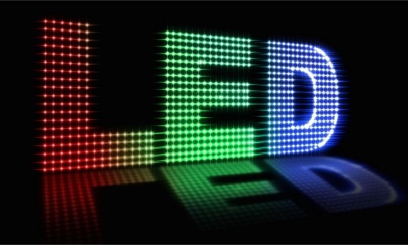 led екран, led дисплей