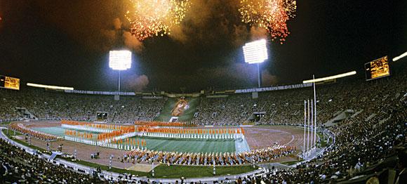 Видеовставки стали неотъемлемой частью церемоний открытия и закрытия Олимпиады-80.