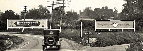 Билборды появились в США в 1891 году