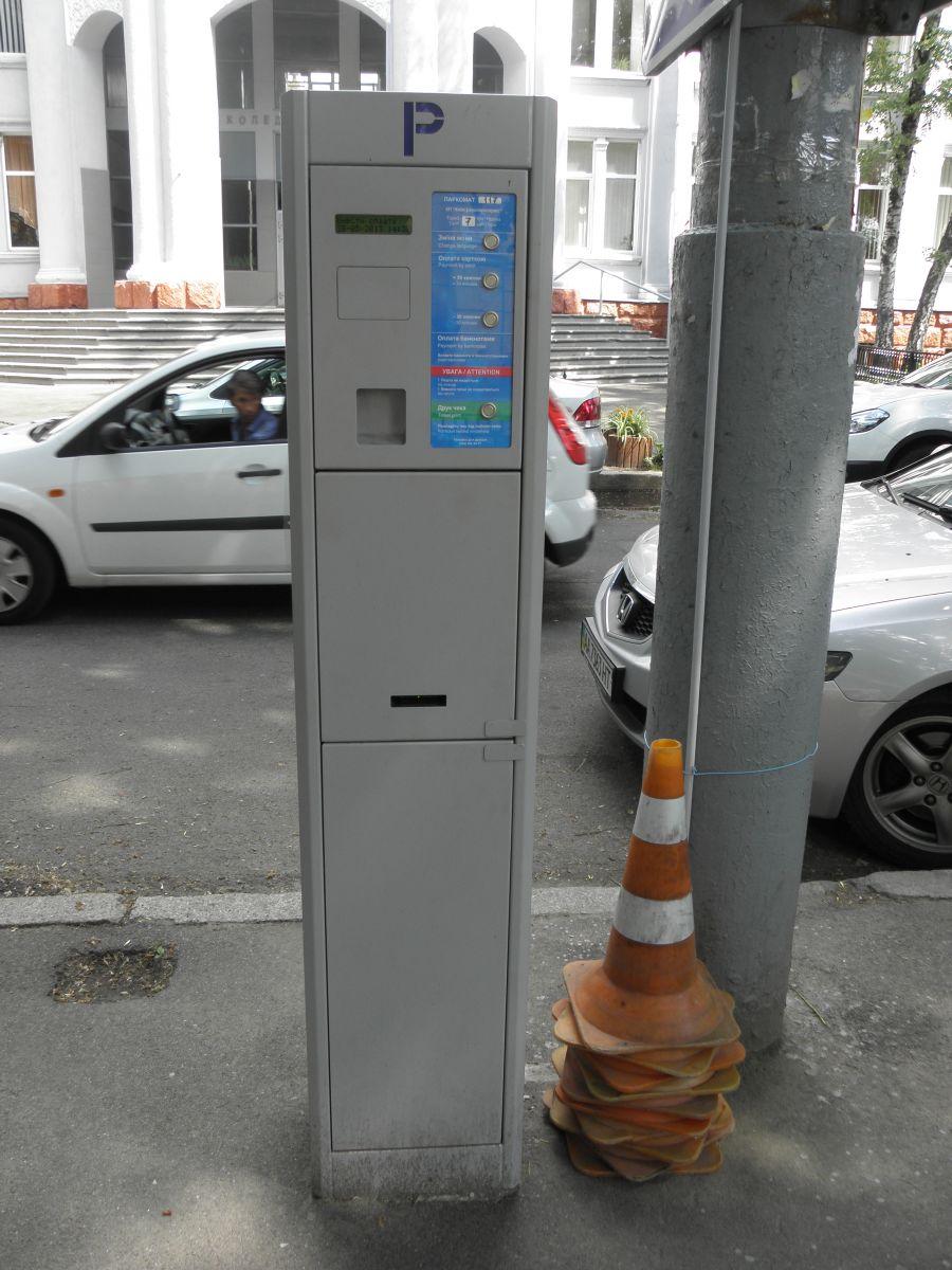 Парковка тротуарного типа СЕА на объекте