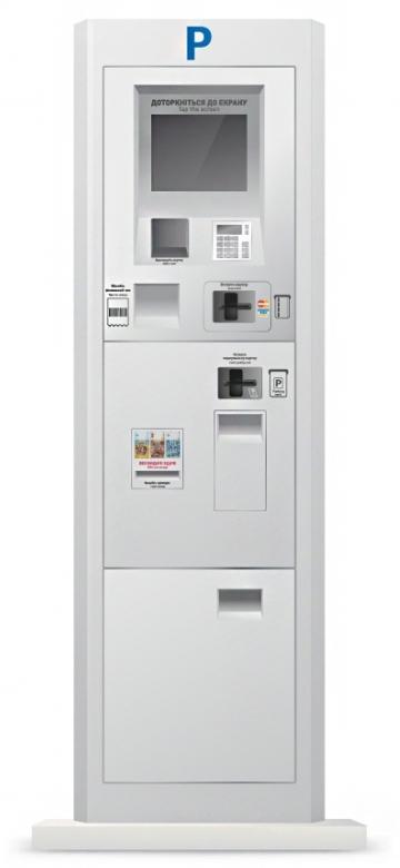 Платежный терминал парковки СЕА