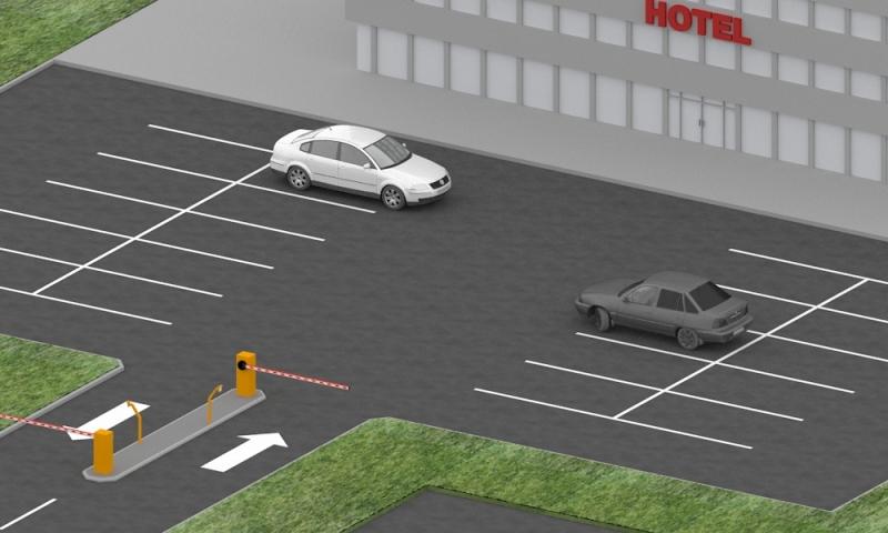 Автоматический парковочный комплекс для отеля