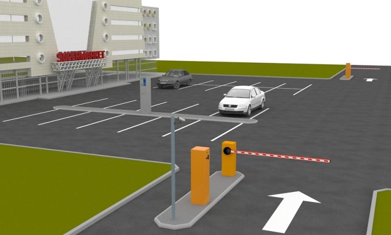 Автоматический парковочный комплекс для ТРЦ
