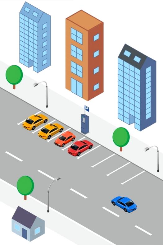 Парковка общественного типа от СЭА