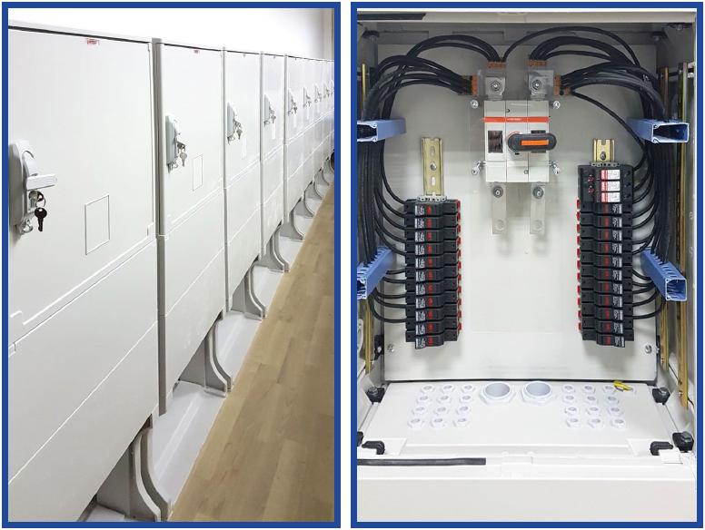 Шкаф сбора мощности блоков солнечных фотогальванических модулей SC-SP/11 -24
