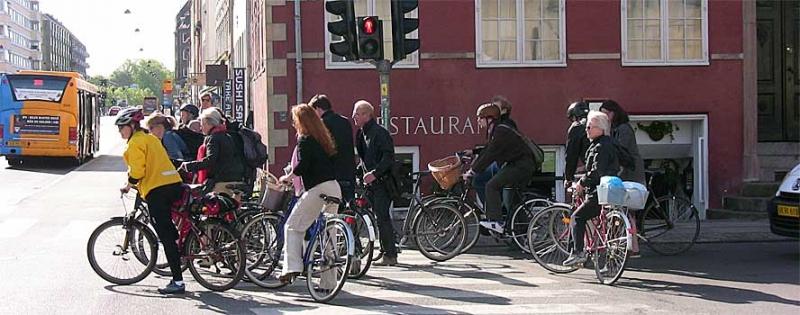 95% датчан имеют велосипед, многие – даже не один