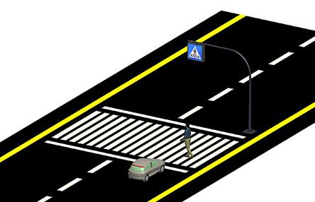 LED освітлення пішохідних переходів