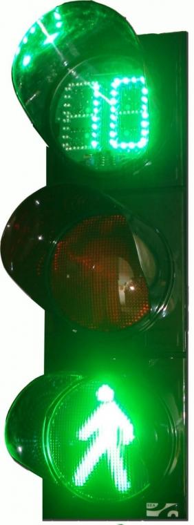 светодиодный светофор СД П1.1-Т-С