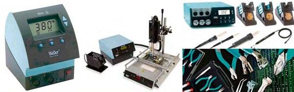 Оборудование для ручного монтажа SMD и DIP компонентов