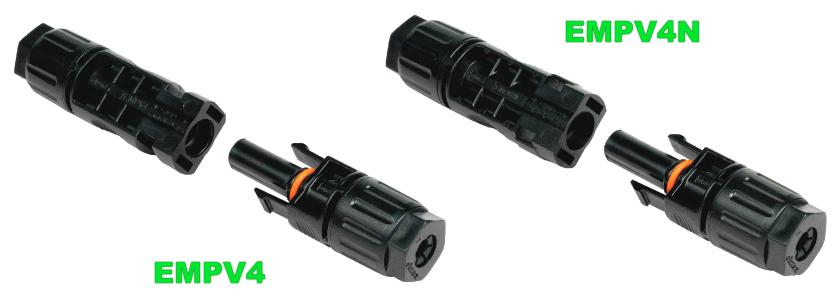 Прямые (стринговые) коннекторы Elmex ЕМРV4 и EMPV4N