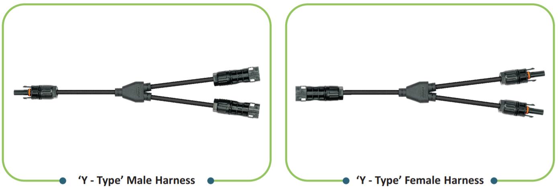 Elmex PV Solar, джгути проводів із конекторами