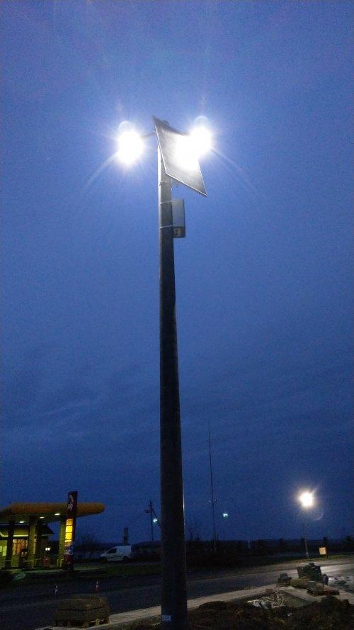 система освітлення автомобільної дороги
