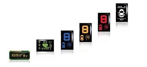 Светодиодные индикаторы, ЖКИ, Дисплеи PLED, OLED