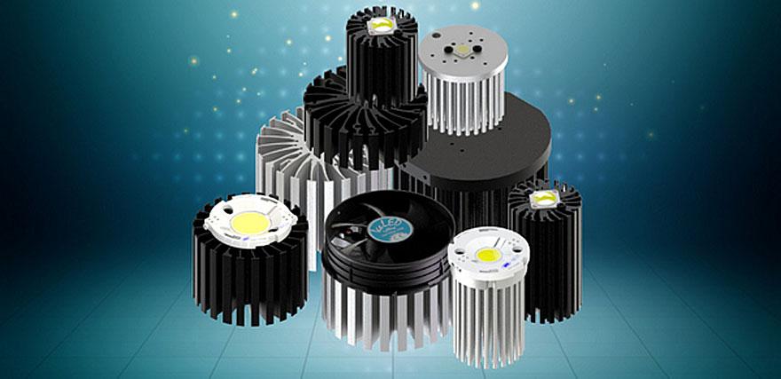 MechaTronix выпускает широкую линейку радиаторов для светодиодных приложений