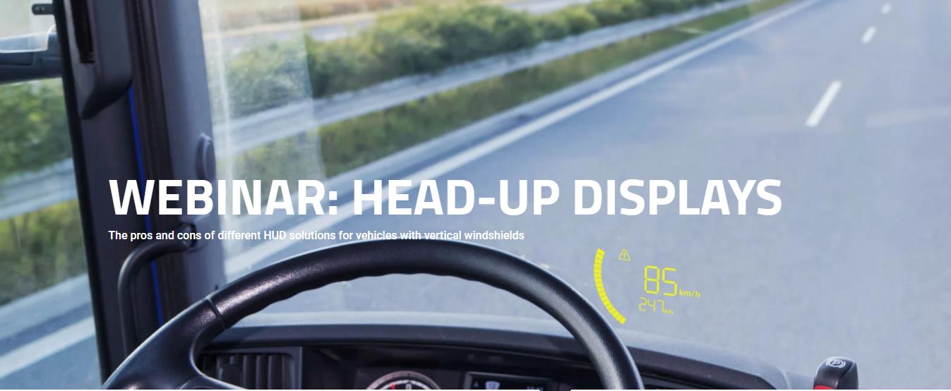 Прозорий скляний дисплей для HUD та переваги й недоліки проекційних дисплеїв